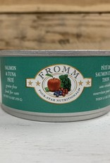 Fromm Family Foods FROMM 4STAR can SMN TUNA cat 5.5OZ