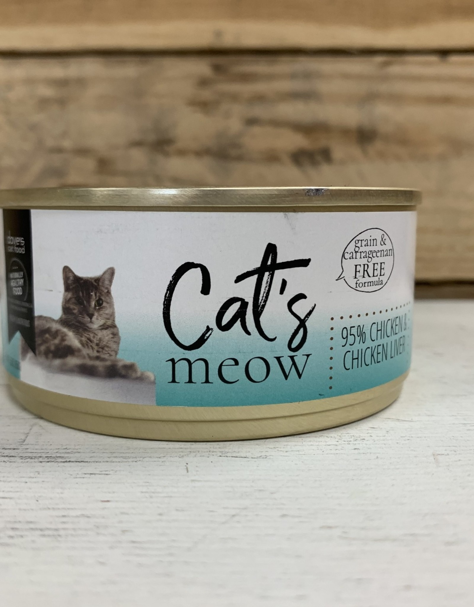 Daves Pet Food Daves Cats Meow 95% Chicken/liver/cat 5.5oz