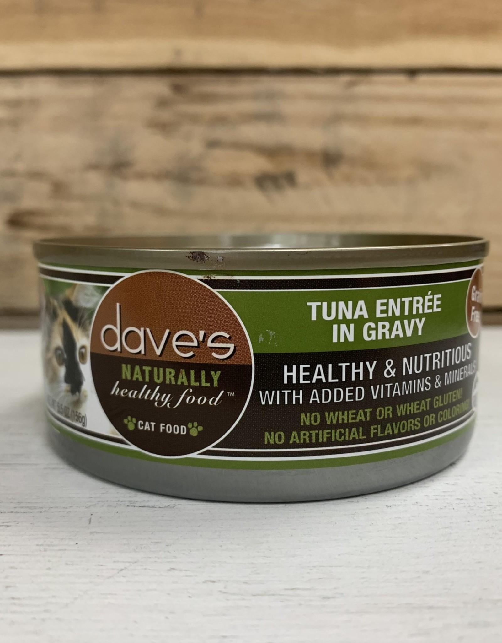 Daves Pet Food Daves NH Tuna & gravy cat 5.5oz