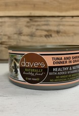 Daves Pet Food Daves NH Tuna&Shrimp cat 5.5oz