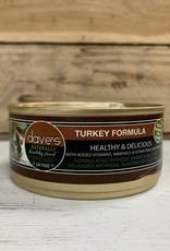 Daves Pet Food Daves NH Turkey Cat 5.5oz