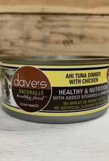 Daves Pet Food Daves NH Ahi Tuna & Chicken cat 5.5oz