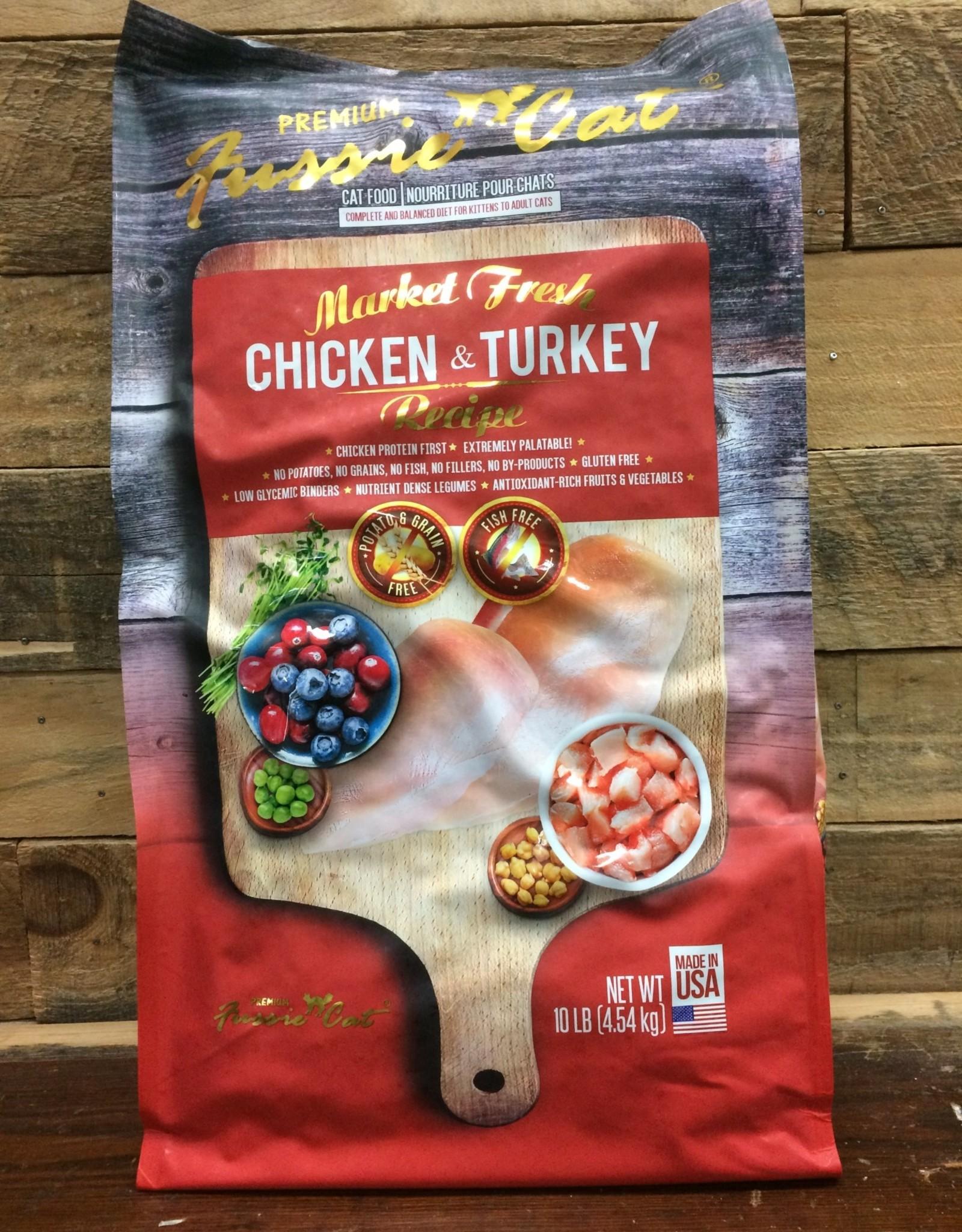 Fussie Cat Fussie Cat Fresh Chicken & Turkey 10LB