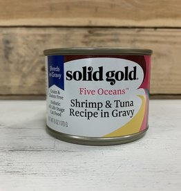 Solid Gold Solid Gold 5 Oceans shrimp and tuna cat 6oz