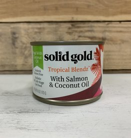 Solid Gold Solid Gold Tropical blendz Coconut and salmon 6oz