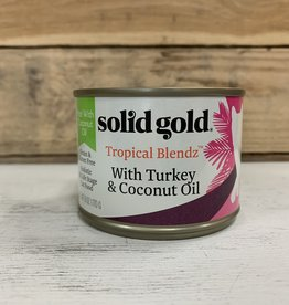 Solid Gold Solid Gold Tropical Blendz Turkey and Coconut 6oz