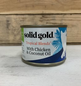 Solid Gold Solid Gold Tropical Blendz Chicken and Coconut 6oz