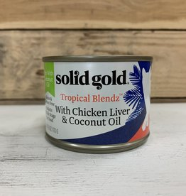 Solid Gold Solid Gold Tropical Blendz Chicken Liver and Coconut 6oz