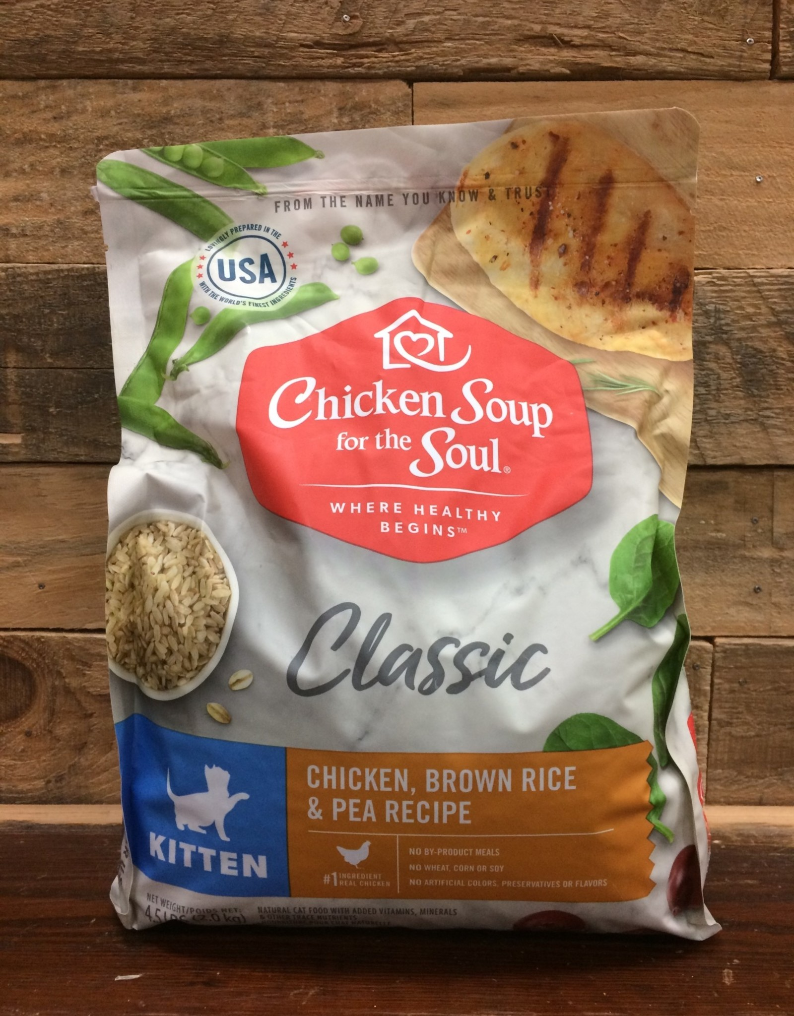 Chicken Soup for the Soul Chicken Soup Cat Kitten 4.5#