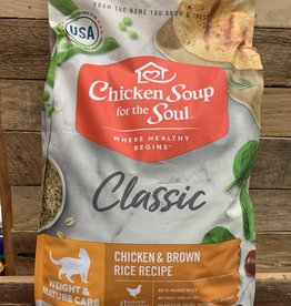 Chicken Soup for the Soul Chicken Soup Cat Weight Mature 13.5#