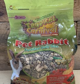 Fm Browns 4lb tropical carnival rabbit food