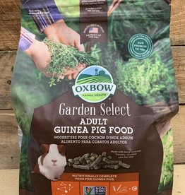 OXBOW ANIMAL HEALTH Oxbow Garden Select 4# Adult Guinea Pig