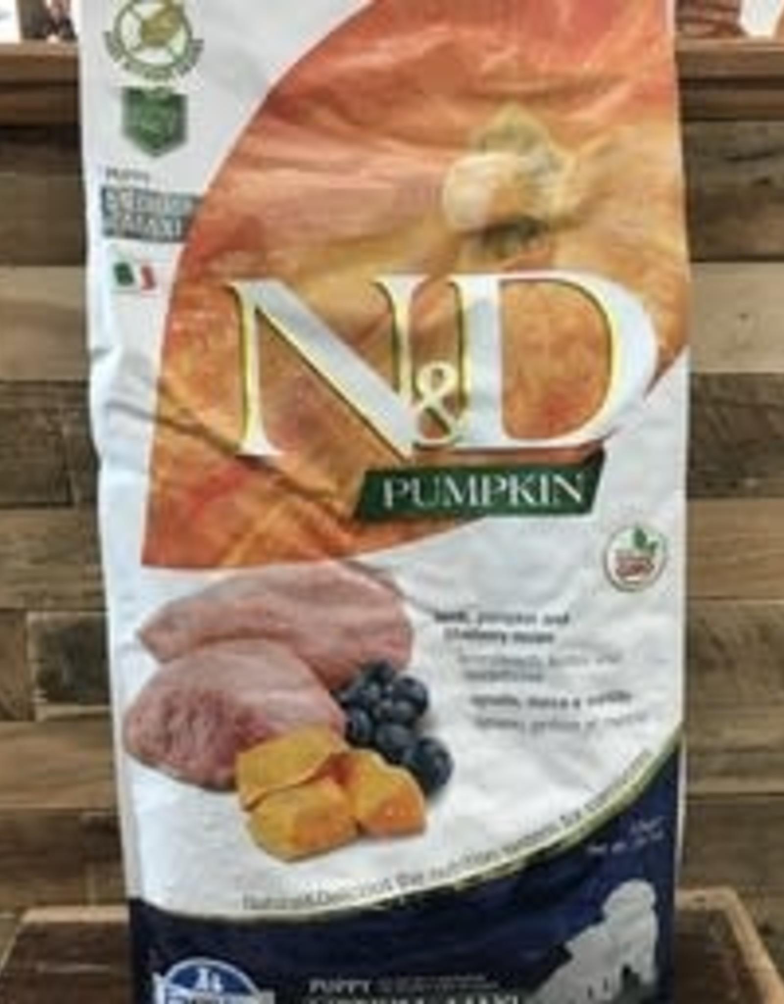 Farmina Farmina N&D pumpkin lamb puppy 26.4 lb