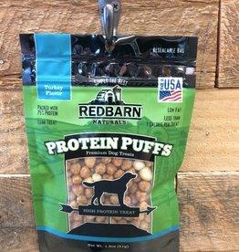 redbarn protein puffs dog peanut turkey