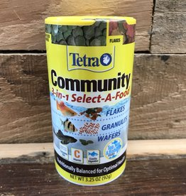 Tetra 3.25oz Community Select-a-food