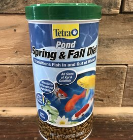 TETRA 7.05 OZ. SPRING & FALL DIET - CANISTER