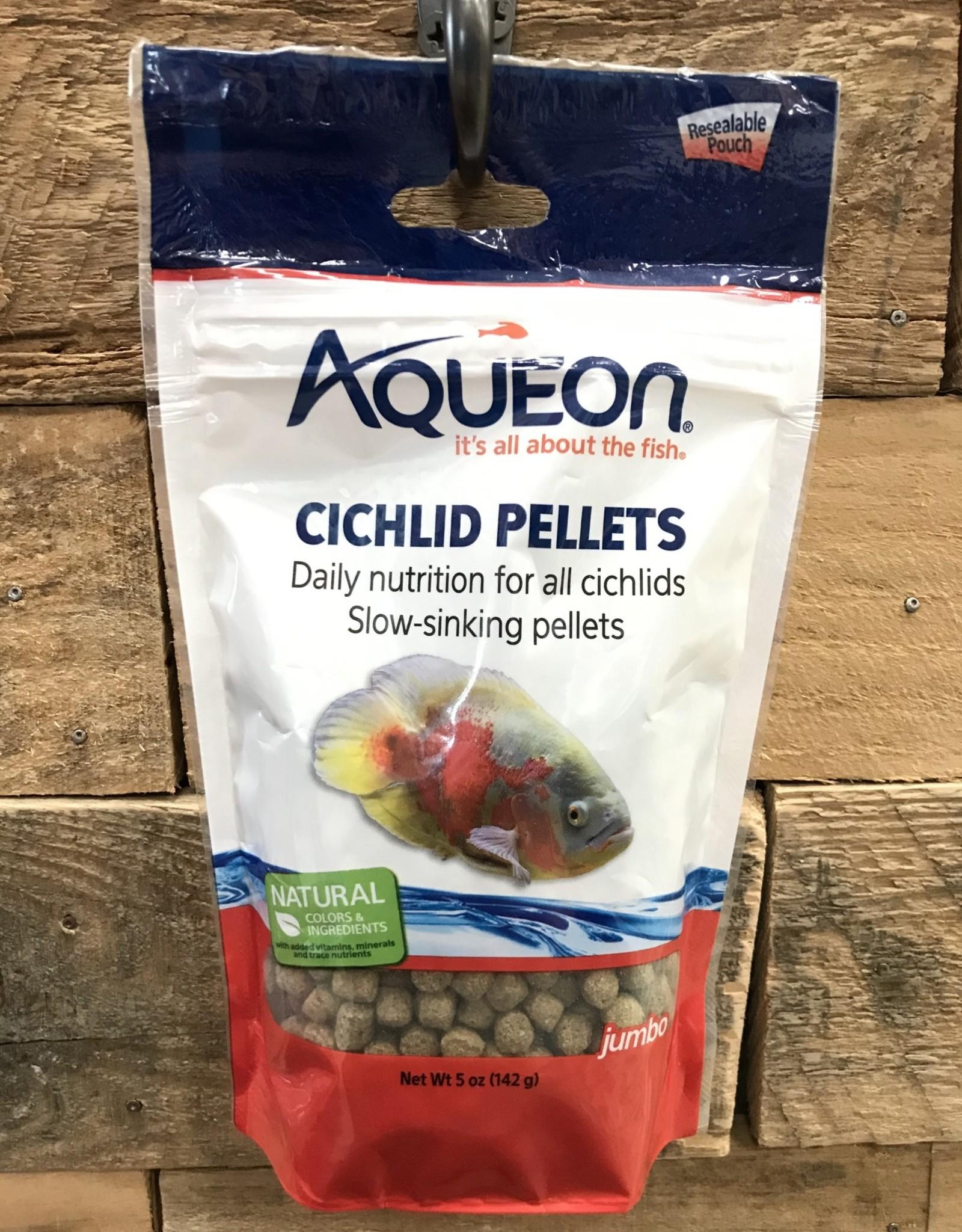 Aqueon Aqueon Cichlid  Jumbo Pellets - Pouch 5 oz.