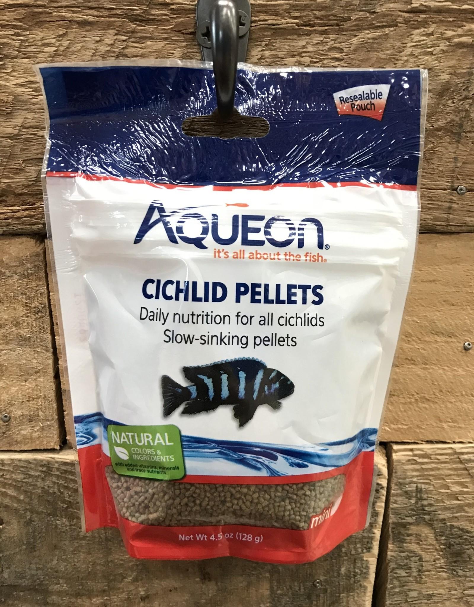 Aqueon Aqueon 4.5 OZ. CICHLID MINI PELLETS - POUCH