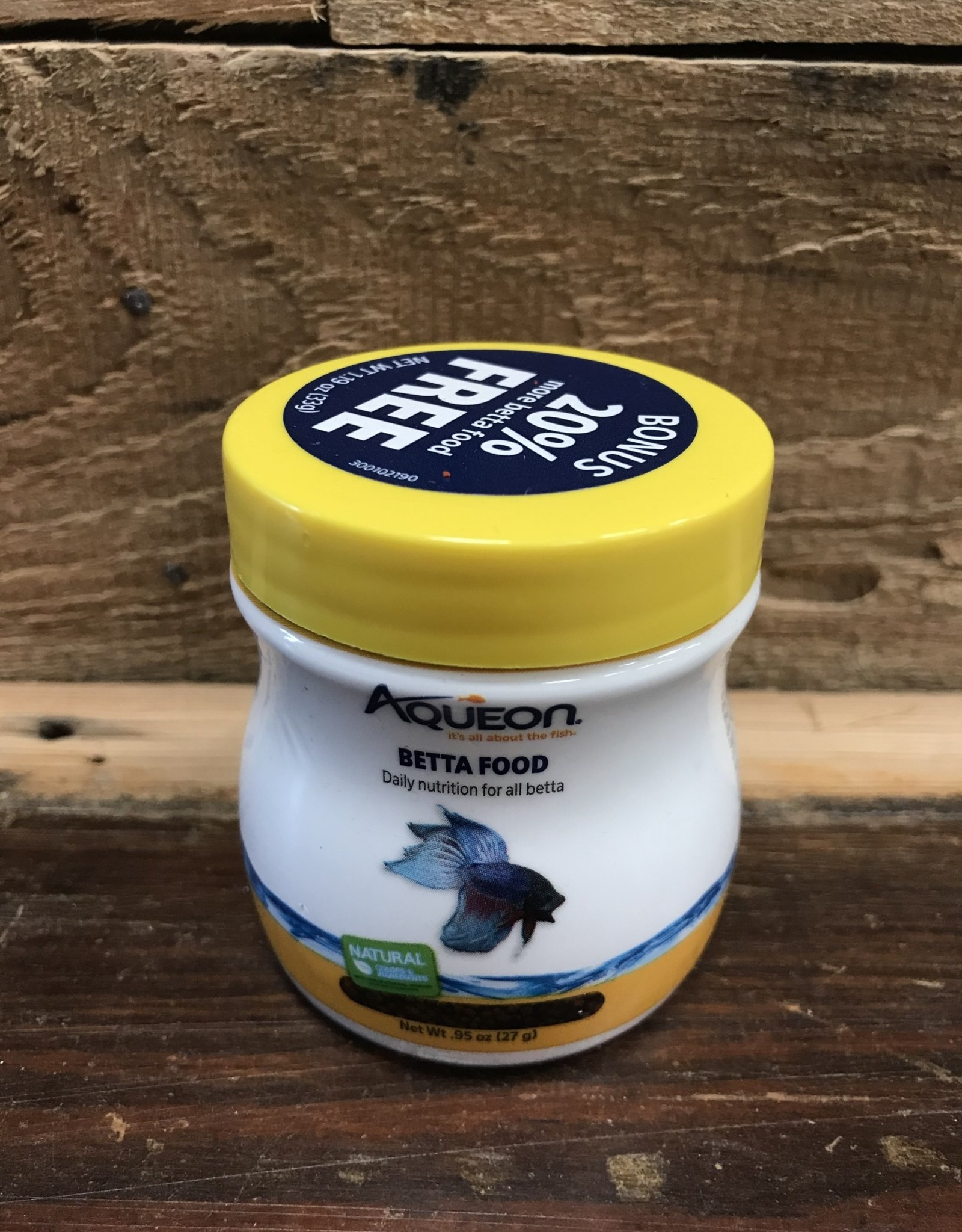 Aqueon Aqueon .95 OZ. BETTA FOOD