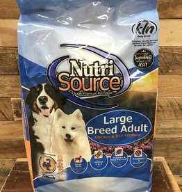 Nutrisource Nutrisource Large Breed Adult Chicken & Rice Dog Food 30#