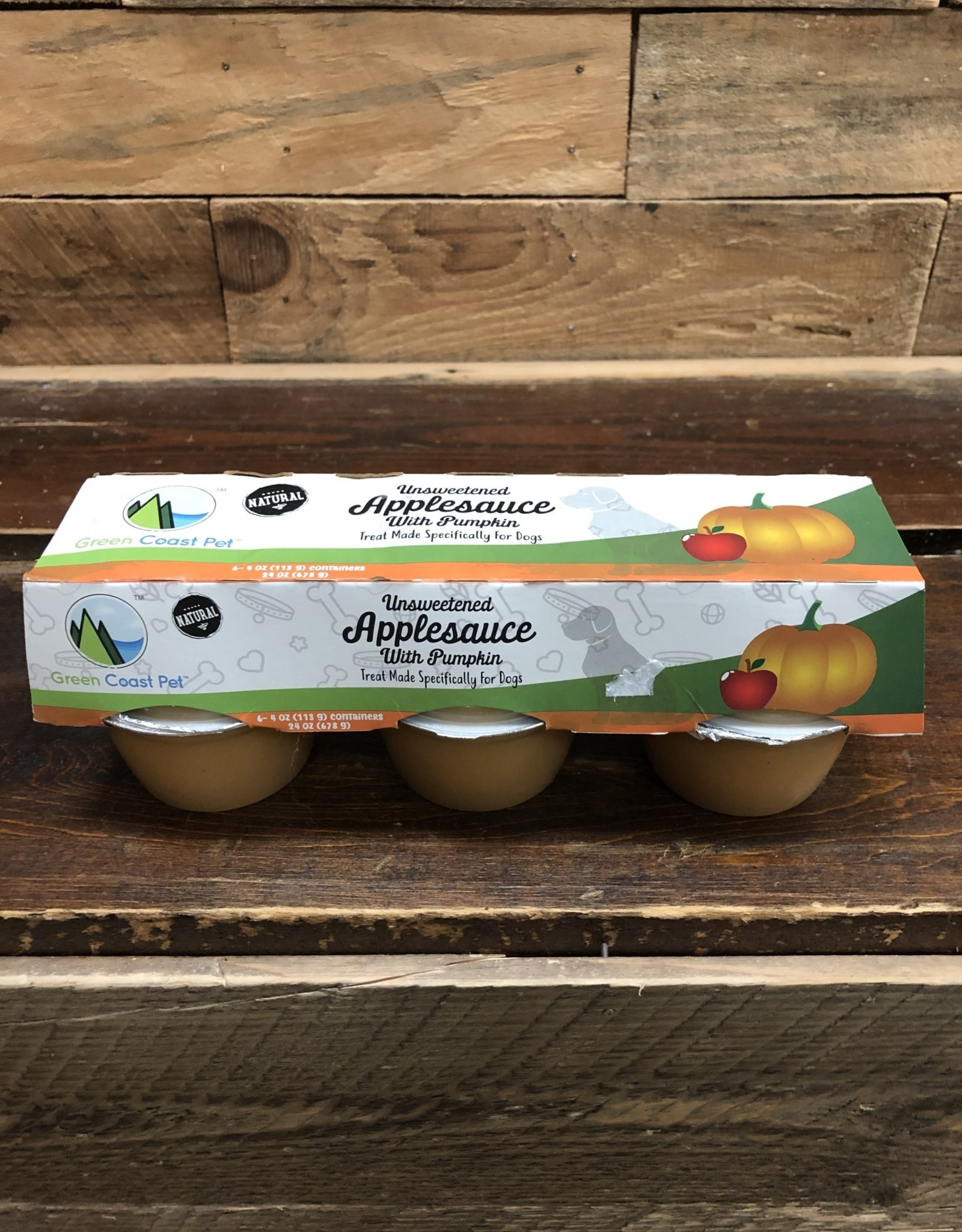 Green Coast Pet Applesauce w/ Pumpkin 6pk
