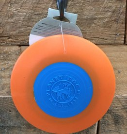 Outward Hound - Planet dog Planet dog flyer blue/orange 9.5 Made in USA