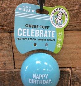 Outward Hound - Planet dog Planet Dog Happy birthday blue Made in USA