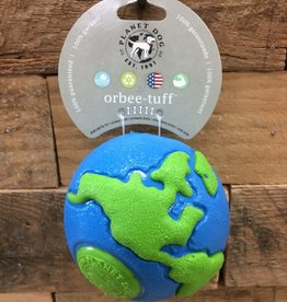 Outward Hound - Planet dog Planet dog orbee lrg blue/green Made in USA