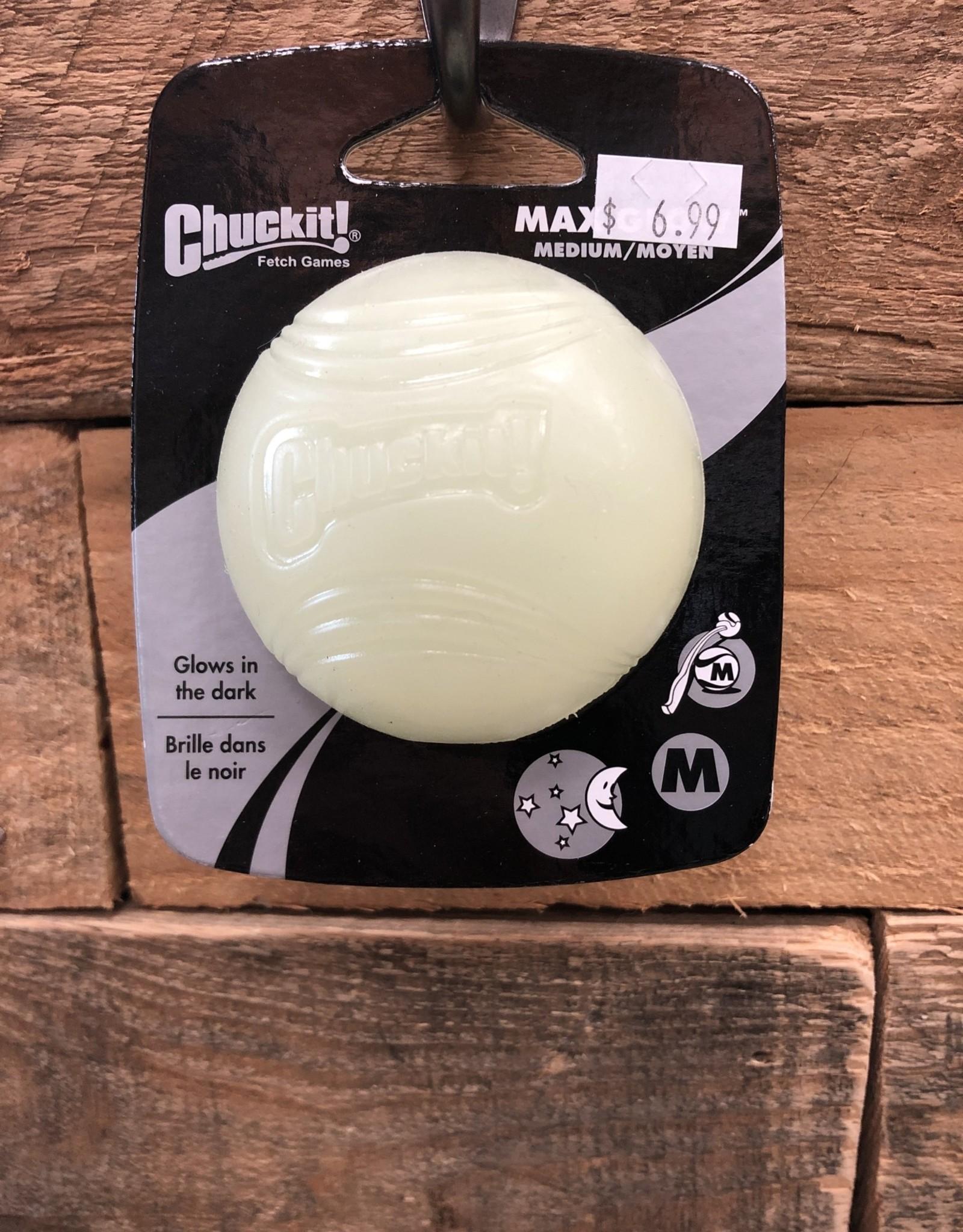 ChuckIt Chuckit! Max Glow Ball Md.
