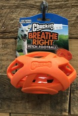 ChuckIt Chuck it Breathe Right Fetch Football