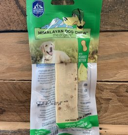 Himalayan Dog Chew Himalayan Dog Peanut Butter Chew Medium  2.3OZ