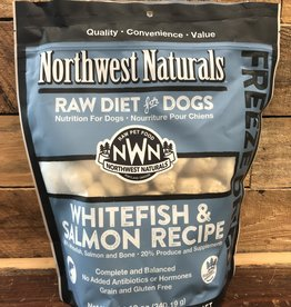 Northwest Naturals Food Freeze Dried Whitefish & salmon 12oz