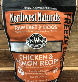 Northwest naturals Food Freeze dried Chick/Salmon 12oz