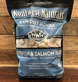 Northwest Naturals Frozen Whitefish & salmon nugget 6#