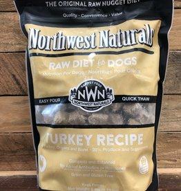 Northwest Naturals Frozen Turkey Nuggets raw 6#