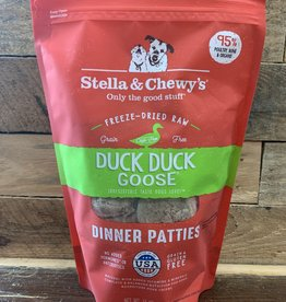 Stella & Chewys FD 14 oz  DUCK-DUCK-GOOSE DINNER DOG