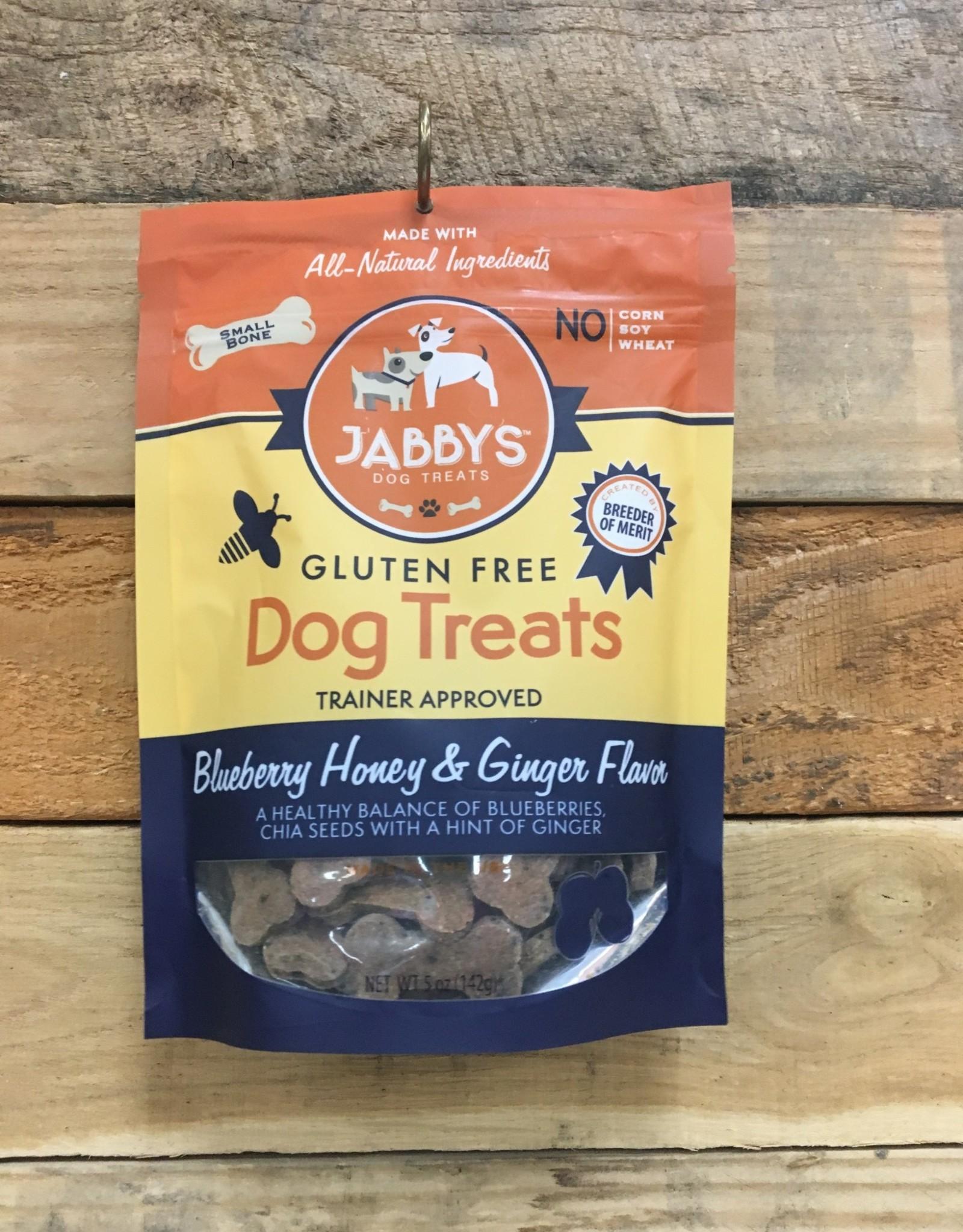 Jabbys Blueberry honey/ginger dog treats