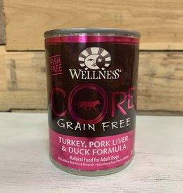 Wellness Wellness core turk/pork dog 12.5oz