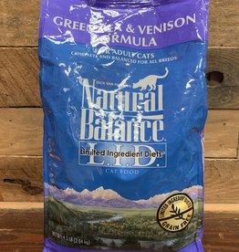 Natural Balance 4.5# venison pea cat