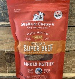 Stella & Chewys FD 5.5 oz SUPER BEEF DINNER dog