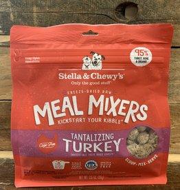 Stella & Chewys FD 3.2 oz Tantalizing Turkey meal mixer dog