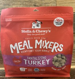 Stella & Chewys FD 18 oz Tantalizing turkey meal mixer dog