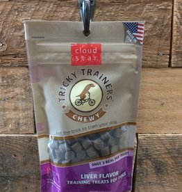 Cloud Star Cloud Star Chewy 5oz Tricky trainer liver
