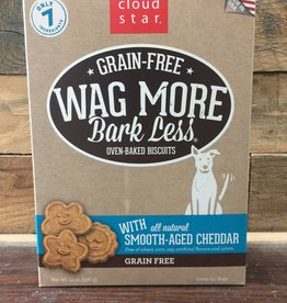 Cloud Star Cloud Star Wag More 14oz GF Baked Cheddar treat