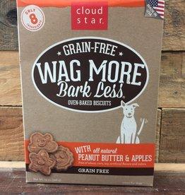 Cloud Star Cloud Star Wag More GF Baked PB & Apple Treat 14oz