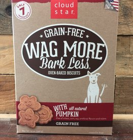 Cloud Star Cloud Star Wag More 14oz GF Baked Pumpkin treat