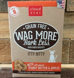 Cloud Star Cloud Star Wag More 7oz GF Itty Bitty Baked PB &Apple