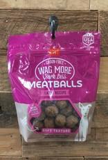 Cloud Star Cloud Star Wag More 14oz Meatball Lamb treat