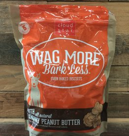 Cloud Star Cloud Star Wag More 3# oven baked Peanut Butter