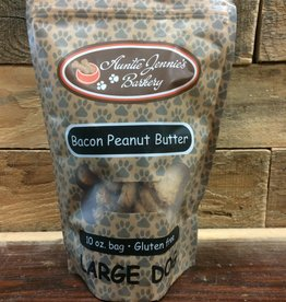 Aunt Jennie's Auntie Jennies Barkery Bacon peanut butter Large dog